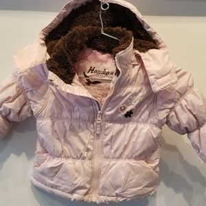Hawke & Co. Pink 2 pc. Jacket with Hood